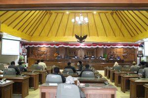 Rapat Paripurna Perubahan Tata Tertib DPRD
